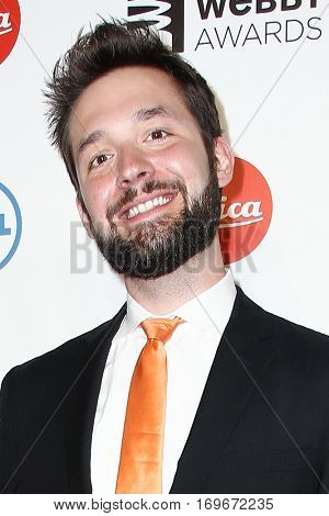 NEW YORK-MAY 19: Reddit Co-founder Alexis Ohanian attends the 18th Annual Webby Awards at Cipriani Wall Street on May 19, 2014 in New York City.