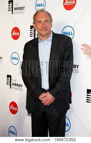 NEW YORK-MAY 19: Inventor Tim Berners-Lee attends the 18th Annual Webby Awards at Cipriani Wall Street on May 19, 2014 in New York City.