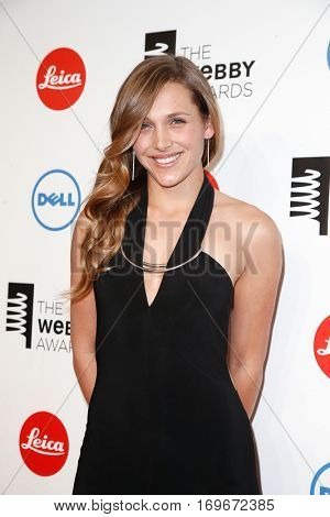 NEW YORK-MAY 19: Daphne Avalon attends the 18th Annual Webby Awards at Cipriani Wall Street on May 19, 2014 in New York City.
