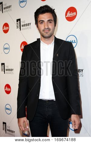 NEW YORK-MAY 19: Founder/CEO, SquareSpace, Anthony Casalena attends the 18th Annual Webby Awards at Cipriani Wall Street on May 19, 2014 in New York City.