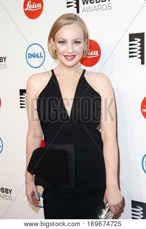 NEW YORK-MAY 19: Actress Wendy McLendon-Covey attends the 18th Annual Webby Awards at Cipriani Wall Street on May 19, 2014 in New York City.