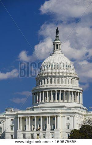 United States Capitol Building - Washington DC USA