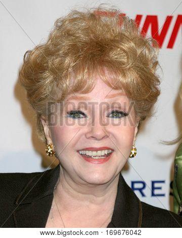 LOS ANGELES -Jan 18:  Debbie Reynolds arrives at the â??Funny Moneyâ? Premiere on January 18, 2007 in Los Angeles, CA