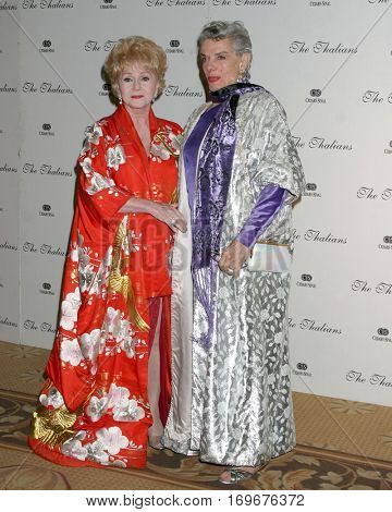 LOS ANGELES -NOV 7:  Debbie Reynolds, Jane Russell arrive at the Thalians Ball  at the Century Plaza Hotel on November 7, 2004 in Century City, CA
