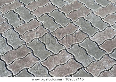 Paving stone texture. Pavement texture paving background