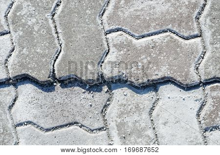 Paving stone texture. Pavement texture paving background