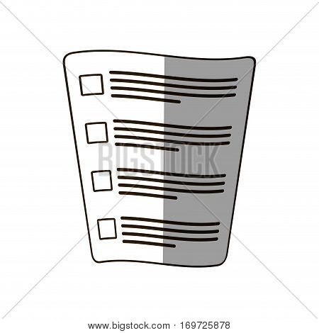 official documents icon design, vector illustration image