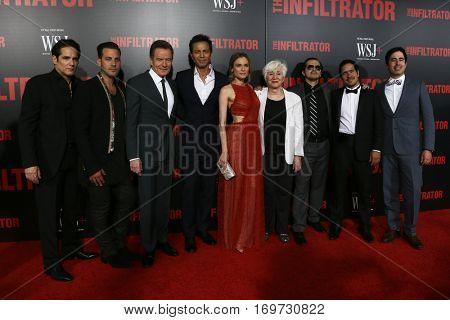 NEW YORK-JUL 11: The cast of