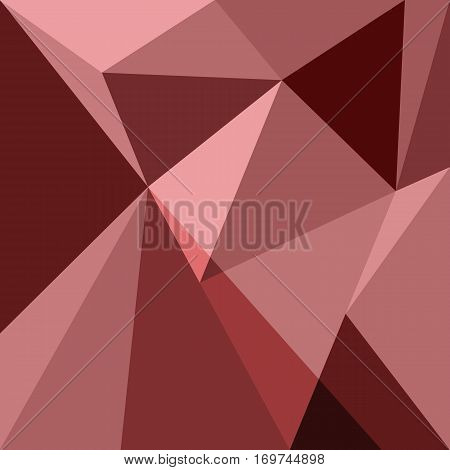 Red low poly design element background, stock vector