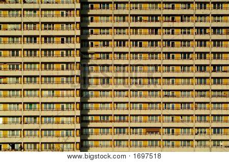 Aparment Building In East Berlin