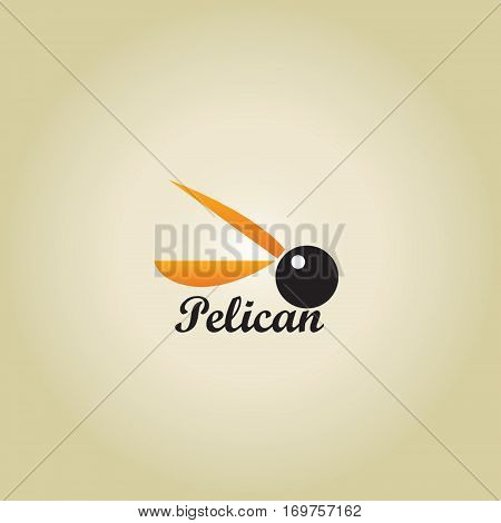pelican ideas design vector illustration on background