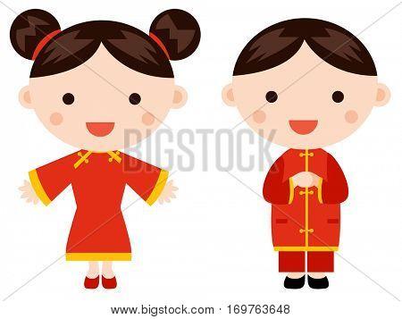 Chinese New Year Greetings- Children