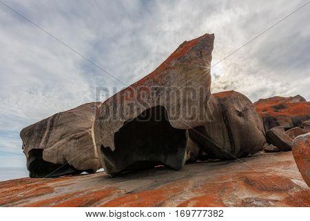 Remarkable Rocks, Flinders Chase National Park, Kangaroo Island, South Australia.
