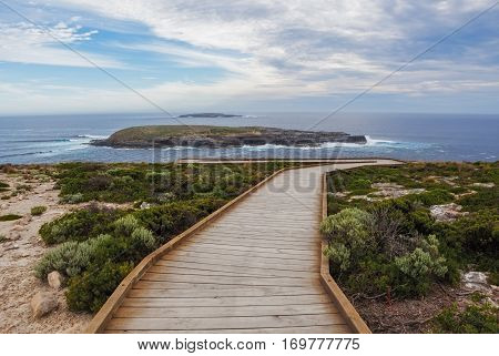 Cape Du Couedic Boardwalk. Flinders Chase National Park, Kangaroo Island, South Australia.