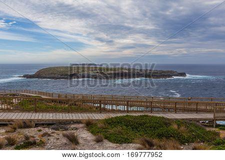Cape Du Couedic Boardwalk. Flinders Chase National Park, Kangaroo Island, South Australia.
