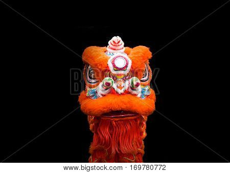 Lion Dancer Chinese Style