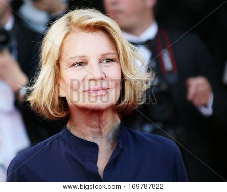 Nicole Garcia attends the screening of 'From The Land Of The Moon (Mal De Pierres)' at the annual 69th Cannes Film Festival at Palais des Festivals on May 15, 2016 in Cannes, France.