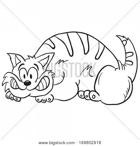 cat cartoon illustration