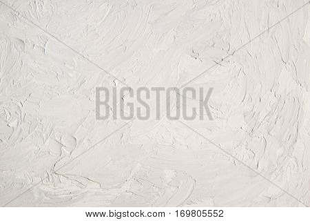 Texture on grey concrete, plaster wall as background