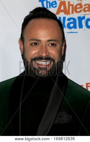 LOS ANGELES - DEC 6:  Nick Verreos at the The Actors Fund's Looking Ahead Awards  at Taglyan Complex on December 6, 2016 in Los Angeles, CA