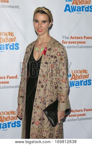 LOS ANGELES - DEC 6:  Naomi Wilding at the The Actors Fund's Looking Ahead Awards  at Taglyan Complex on December 6, 2016 in Los Angeles, CA