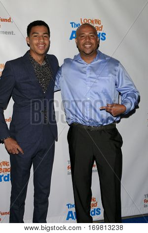 LOS ANGELES - DEC 6:  Marcus Scribner, Troy Scribner at the The Actors Fund's Looking Ahead Awards  at Taglyan Complex on December 6, 2016 in Los Angeles, CA