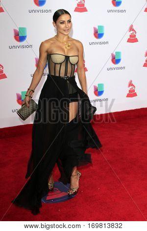 LAS VEGAS - NOV 17:  Yeini at the 17th Annual Latin Grammy Awards at T-Mobile Arena on November 17, 2016 in Las Vegas, NV