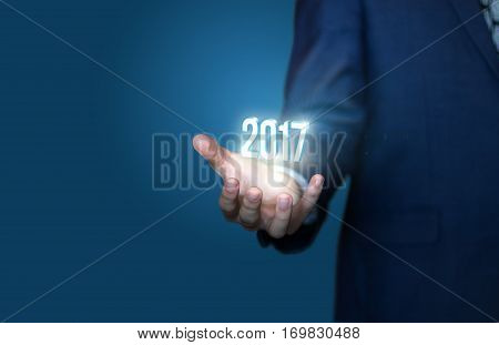 Business new year concept concept design illustration banner