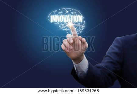 Inclusion of innovative thinking concept design illustration banner