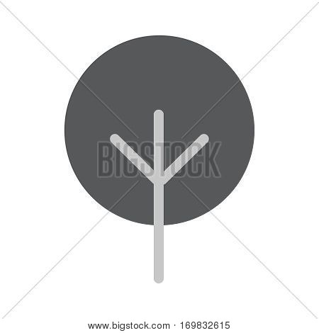 Tree Icon in trendy flat style isolated on whie background. Tree symbol for your web design, logo, UI. Vector illustration, EPS10.