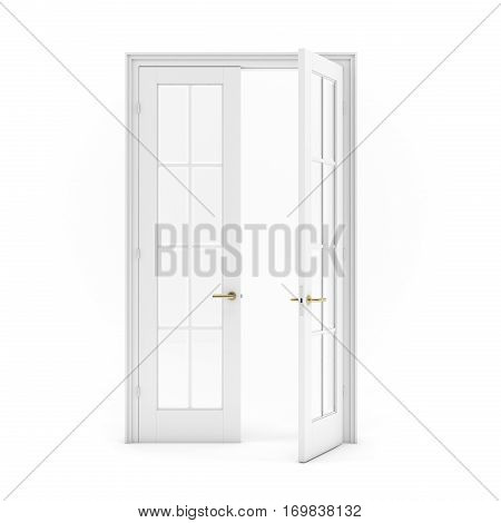 Open Double Door