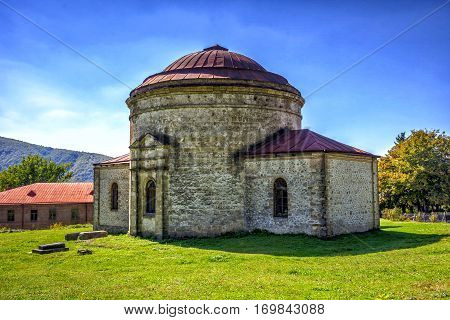 Xan Masjid, Khan Mosque, Sheki, Azerbaijan