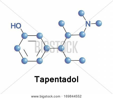 Tapentadol is a centrally acting opioid analgesic of the benzenoid class with a dual mode of action as an agonist of the m opioid receptor and as a norepinephrine reuptake inhibitor