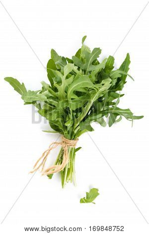 Bunch Of Arugula Leaves.