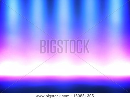 abstract lighting interior background