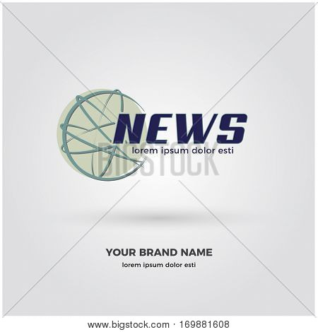 DYNAMIC MODERN NEWS LOGO / ICON