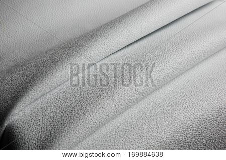 white leather texture background close up macro.
