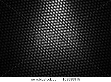 Abstract modern black carbon fiber textured material design for background graphic design