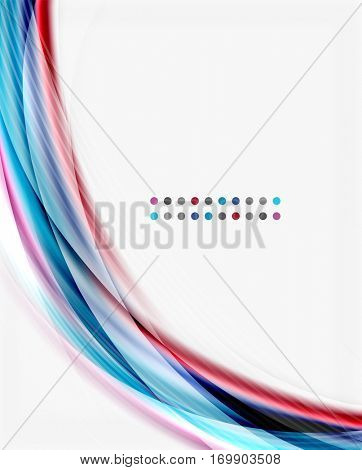abstract background template - wave