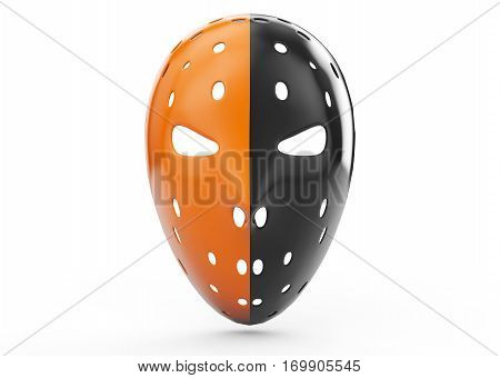 masks for the robbery on a white background 3d render