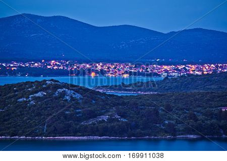 Island Of Murter And Tisno Evening View