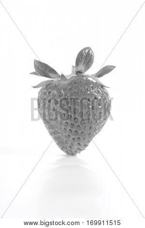 Strawberrie on white bacground - close up