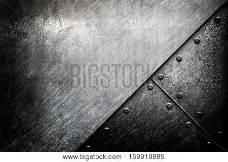 grunge of metal design background