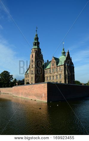An external view of a castle building in Copenhagen