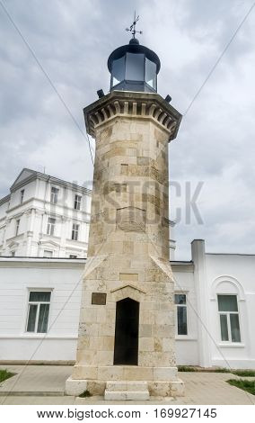 Constanta, Romania - September 4, 2014: The Old Lighthouse Called