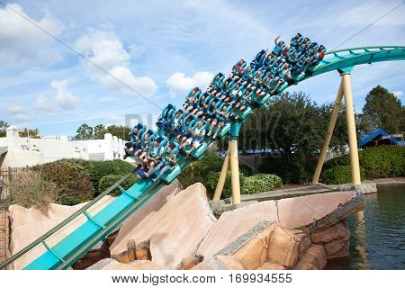 Kracken Roller Coaster