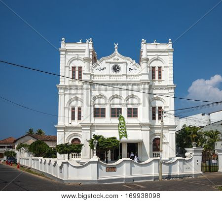 The Mosque in Galle ,Fort, Sri Lanka