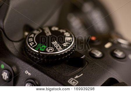 Details Of Modern Digital Slr Photocamera