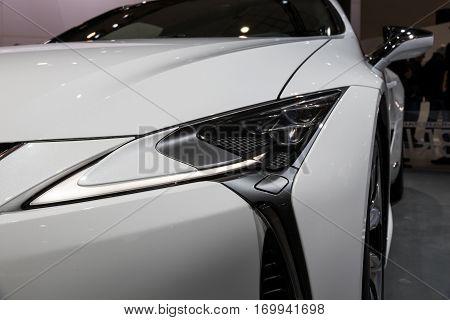 Lexus Lc500H Hybrid Car