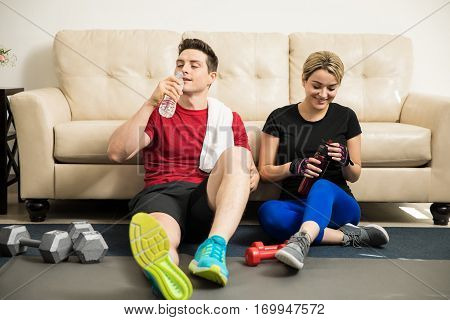 Taking A Break From Exercising Together